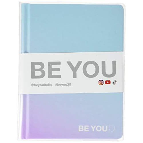 Be You Orginal Easy Diario Agenda, Formato Grande ma Mini, Collezione 2019/20, Light Blue