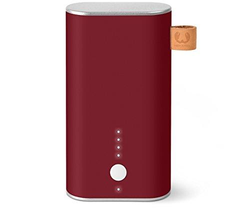 Fresh 'n Rebel 6.000 mAh - Powerbank (inkl. Micro-USB-Kabel und Handbuch - mit mehrfachen Sicherheitsfunktionen - Ladestatusanzeige) Rot