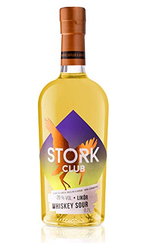 Stork Club Whiskey Sour Liqueur (1 x 700ml außergewöhnlicher Whiskey-Sour Cocktail)