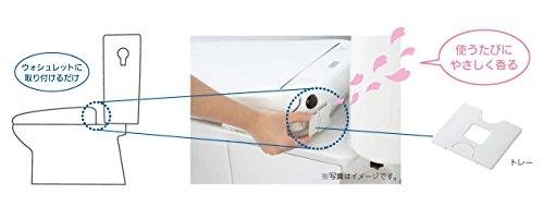 『TOTO トイレ用芳香剤 ウォシュレット後付けフレグランス 詰替えシート(シート8枚入) TCA239』のトップ画像