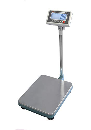 VisionTechShop TBW-500 Bench Scale for Warehouse Industrial Shipping Scale and, Lb/Kg Switchable, 500lb Capacity, 0.1lb Readability, NTEP Legal for Trade