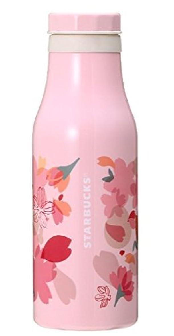 厳密に休暇ベーカリースターバックス SAKURA 2018 ステンレスボトル バラエティーペタル 473mlさくら ボトル ピンク スタバ