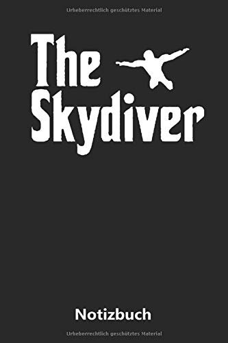 Notizbuch: Der Fallschirmspringer (liniert | 100 Seiten)