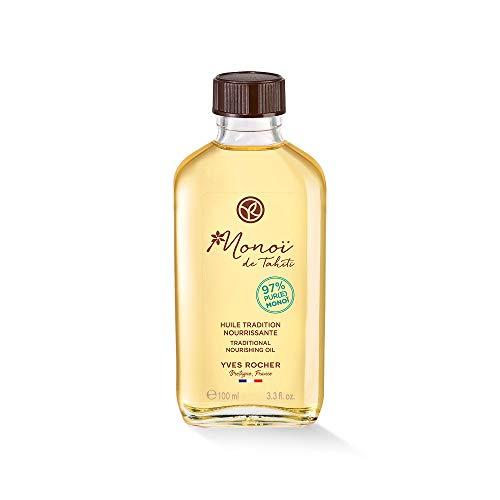 Yves Rocher Monoï Traditionelles Pflege-Öl, pflegendes Feuchtigkeitsöl für Haut & Haare, 1 x Flacon 100 ml
