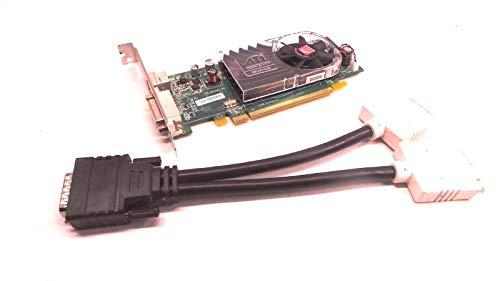 New ATI Radeon HD 3450 256MB PCI-e x16 DMS-59 Full Height Video Card X399D 0X399D with DMS-59 Dual DVI Adapter