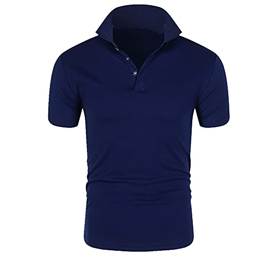 Camisa de los hombres Casual Deportes Camiseta Track and Field Sportswear Modern Short