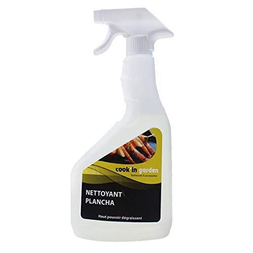 Spray Nettoyant Dégraissant pour Plancha - Vaporisateur 750 ml - Incolore   Inodore - Cook In Garden