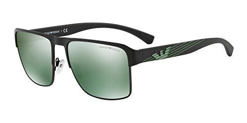 Emporio Armani Sonnenbrillen EA 2066 BLACK/GREEN Herrenbrillen