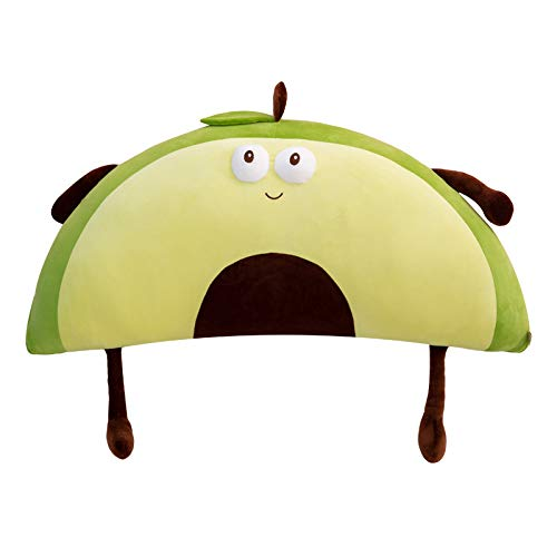 Avocado-bedhoofd Met Katoenen Kussen Van Dons, Schattige Cartoonpop, Vriendin Cadeau 90CM0.35kg groen
