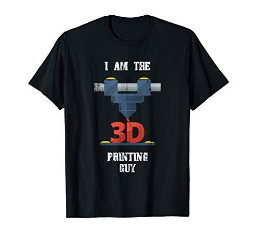 3D-Printing Guy G28 CNC Maker 3D-Scanner 3D-Printer T-Shirt T-Shirt