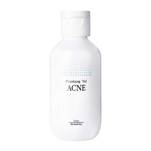 PYUNKANG YUL Acne Toner - Acne Treatment - Salicylic acid BHA Astringent for Face - Natural Ingredients removing Dead Skin Cells and Minimizing Pores - Korean Sebum Control Toner - 5.1 Fl. Oz
