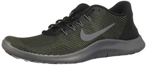 Nike Damen Laufschuh Flex Run 2018 Sneakers, Schwarz (Black/Dark Grey/Anthracite 001), 40 EU