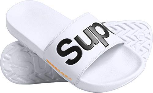 Superdry Classic Pool Slide Sandals 46-47 EU Optic