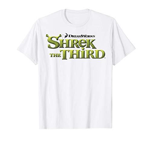 Shrek The Third DreamWorks Ogre Title Logo Camiseta