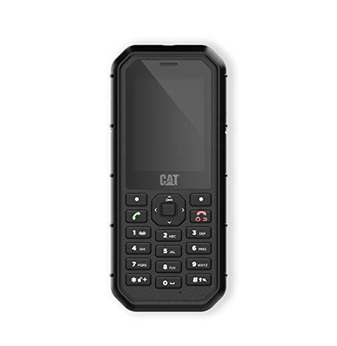 Bullitt CAT B26, Teléfono móvil rugerizado de 2.4'' (2G. 2MP, 8GB RAM, IP68, Bluetooth), Negro ⭐