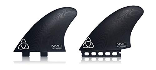 Naked Viking Surf ONO Twin Keel Surfboard Fins, Apex Series G10 FCS Compatible
