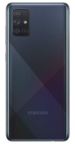Samsung Galaxy A71 (Prism Crush Black, 8GB RAM, 128GB Storage) with No Cost EMI/Additional Exchange Offers