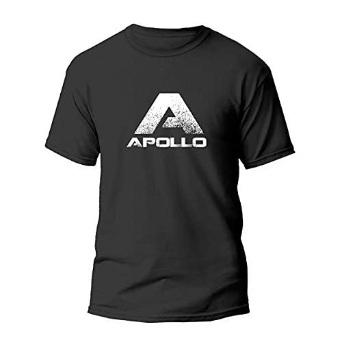 Apollo Sportshirt, atmungsaktives kurzarmiges Damen und Herren T-Shirt für Sport und Freizeit, Unisex, Diverse Farben, Größen S-XXL, aus 100{40bcead8a14483c3107ee711d663d93b20ff597c9cfafd04eacd9ccb1d3a9846} Baumwolle