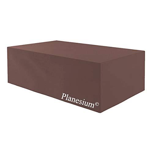 Planesium Housse de protection de qualité supérieure pour meubles de jardin - Housse de protection imperméable et respirante - Indéchirable - 575 g/m - 175 cm x 280 cm x 95 cm