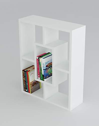 HOMIDEA Penta Tavolino Basso da Salotto - Materiale in Legno - Tavolino da Divano - Tavolino da caffè Moderno in Un Design alla Moda con mensola