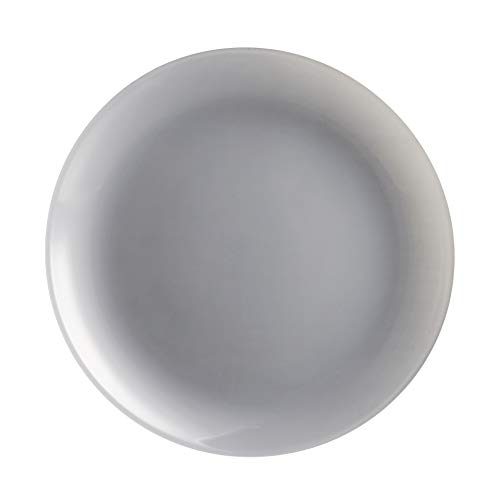 Luminarc N4148 Plato de postre 20,5 cm-arty fog, gris transparente, 1 pieza