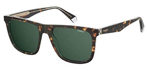 Polaroid PLD 2102/s/x Sunglasses, KRZ/UC Havana CRYST, 55 Mens
