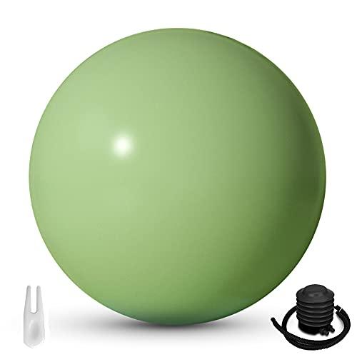 Lixada Pelota de Yoga 65 cm Bola de Yoga de Estabilidad Gruesa Antiexplosiva,Utilizada para Ejercicios de Equilibrio,Entrenamiento Básico,Incluida la Bomba de Aire
