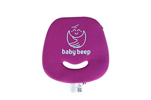 Baby Beep Bluetooth kussen voor autostoelen, rood kersen