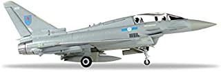 Herpa 580281 Royal Air Force Eurofighter Typhoon T3 - No 6 Squadron Aircraft Model Kit, Multi-Colour