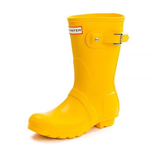 HUNTER Original Short Wellington Boots, Botas Mujer, Amarillo, 36 EU