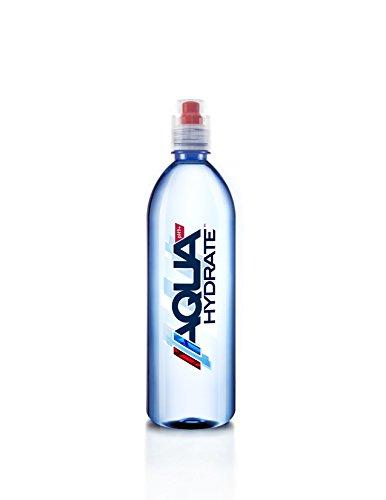 AQUAhydrate Electrolyte Enhanced Water Ph9+, 23.67 Fl. Oz (Pack of 12)