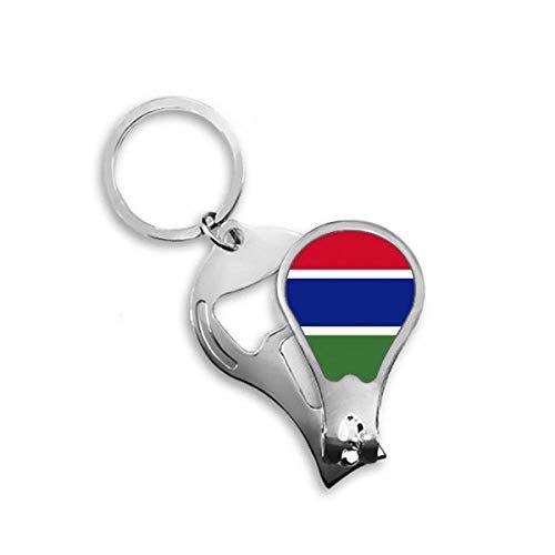 DIYthinker De Gambia Nationale Vlag Afrika Land Toenail Clipper Cutter