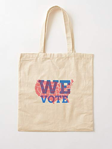 Sweetino Trump Go Joe Biden Harris Donald Vote Tote Cotton Very Bag | Bolsas de supermercado de lona Bolsas de mano con asas Bolsas de algodón duraderas