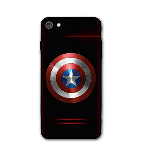 iPhone 7 Case iPhone 8 iPhone SE 2nd 2020 Case 4.7', Comics iPhone Case Plastic Full Body Protection Cover for iPhone 7/8, iPhone SE 2nd 2020 (Captain-America)