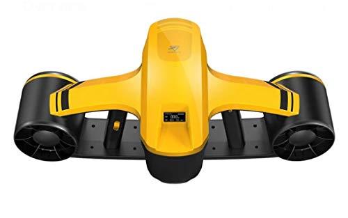JINGBO Scooter Submarino, Hélice Sumergible Scooter Submarino Booster, 45m Profundidad de Trabajo para Buceo Natación Snorkeling en el Agua.