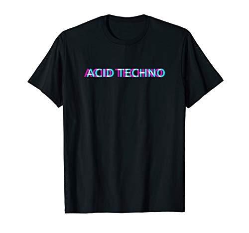 Acid Techno Shirt LSD Psy Goa Trip 90er Rave Festival Outfit T-Shirt