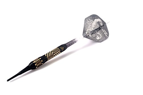 CUESOUL Black Scorpion Deluxe Softdarts – Design 3 - 5
