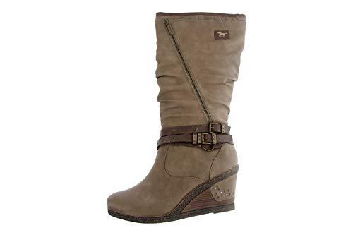 MUSTANG Shoes Stiefel in Übergrößen Braun 1083-507-318 große Damenschuhe, Größe:44