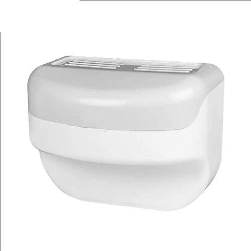 JJZXD Rodillo del Papel higiénico Percha de baño Toalla de Papel en Rack de Pared higiénico Papel Resistente al Agua Holder