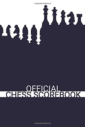 Official Chess Scorebook (Deep Blue): Beautifully Designed 90 Moves Chess Notation Book...