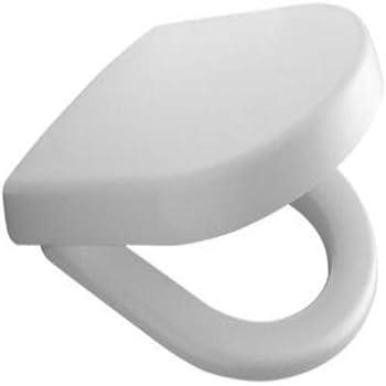 color blanco Asiento de inodoro Villeroy /& Boch 98M9C101 Omnia Architectura bajada amortiguada, bisagra de acero inoxidable