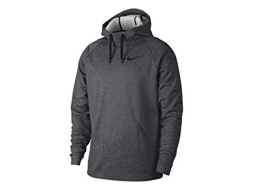 Nike Masculino Moletom Treino Therma Com Capuz Dri-Fit 932022-071 Tamanho Pequeno Carvão Mesclado/Preto