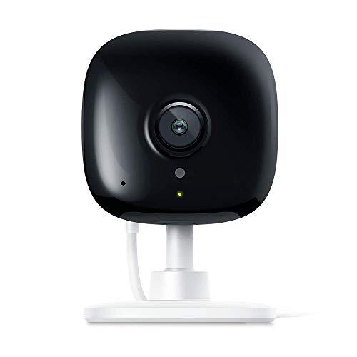 TP-link KC100 - Cámara Vigilancia, Cámara IP WiFi 1080p Full HD 130° Gran Angular, Zonas de Detección de Movimiento Ajustables, Visión Nocturna, Audio de 2 Vias y Nube con Kasa App para iOS y Android