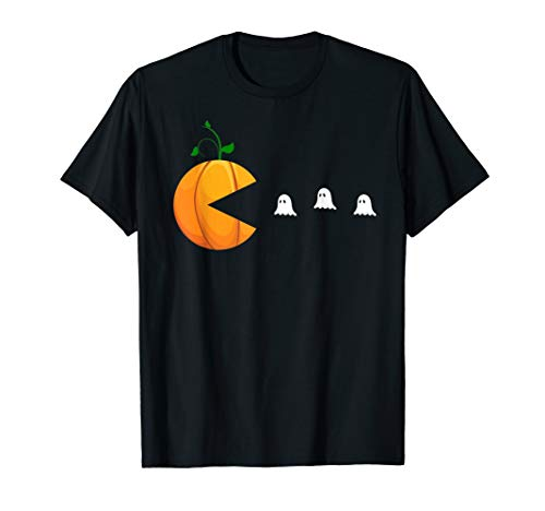 Funny Halloween Shirts For Women Kids Men Pumpkin Ghosts T-Shirt