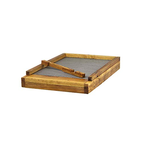 Hoover Hives 8 Frame Langstroth Beehive Screened Bottom Board Dipped in 100% Beeswax