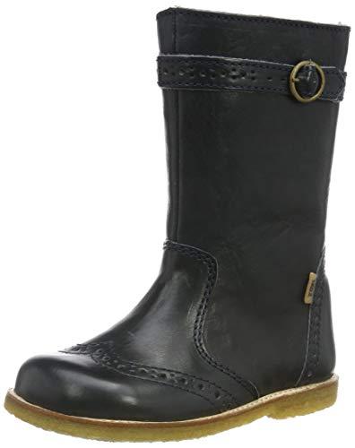 Bisgaard Mädchen Filippa Biker Boots, Blau (Navy 601), 25 EU
