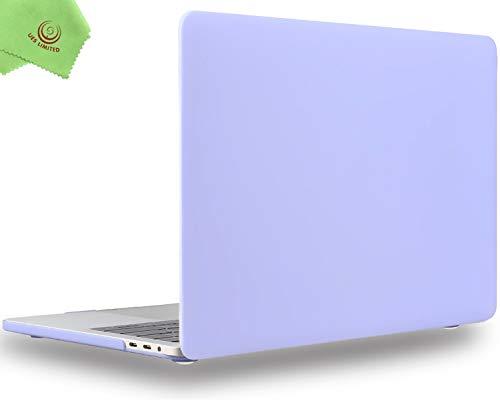 UESWILL MacBook Pro 13 inch Case 2020 2019 2018 2017 2016 Release A2338 M1 A2289 A2251 A2159 A1989 A1706 A1708, Matte Hard Case for MacBook Pro 13 inch 2 or 4 Thunderbolt 3 Ports USB-C, Serenity Blue