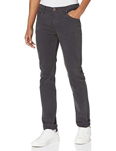 Lee Rider  Pantalones, Gris Grafito, 30W x 32L para Hombre