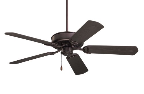Emerson CF654ORB Sea Breeze 52-Inch Ceiling Fan with Weather Resistant Blades, Light Kit Adaptable, Oil Rubbed Bronze Finish