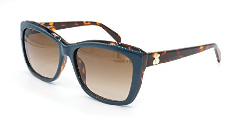TOUS STO954S-550Z99 Gafas, Verde/Marrón/Rosa, 55/16/140 para Mujer